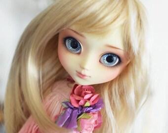 "Peggy WIG 8-9"" for dolls : Pullip, Wichtel, Msd, Kaye Wiggs, Dollmore, Sd, Dal, 1/3 BJD..."