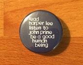 JOHN PRINE BUTTON / magne...