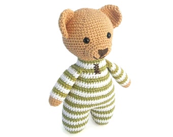 Amigurumi Crochet Patterns for Crochet Teddy Bear Pattern: How to Crochet Easy Amigurumi Bear, PDF Pattern