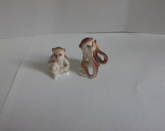 A pair of monkeys  made in Japan