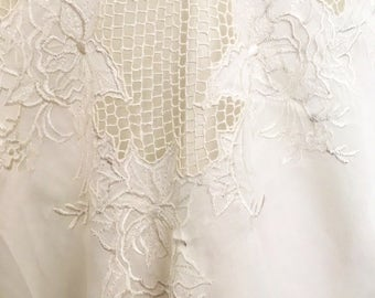 1970s cut lace camisole