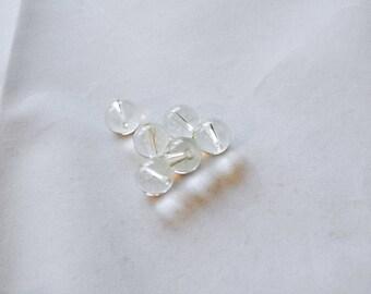 12mm Yellow Quartz Round Beads