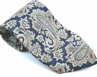 Vintage Cabralli Men's Luxury Handmade Silk Tie
