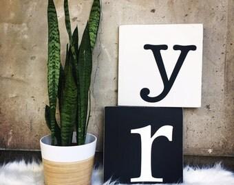 Custom Letter - Frameless sign