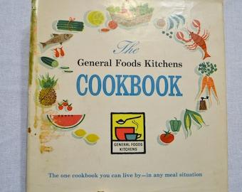 General Foods Kitchens Cookbook 1959 Vintage Recipe Book PanchosPorch