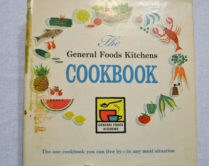 General Foods Kitchens Cookbook 1959 Vintage Recipe Book PanchosPorch