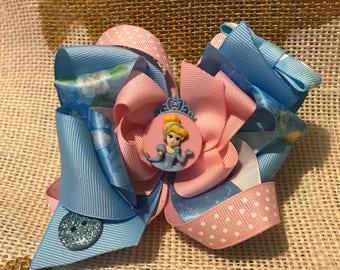 Cinderella Inspired Bow