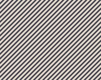 Les Petits - Strokes Midnight by Amy Sinibaldi for Art Gallery Fabrics, 1/2 yard, LEP 811