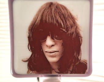Joey Ramone-Ramones Night Light Fused Glass