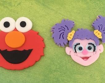Fondant Inspired Elmo