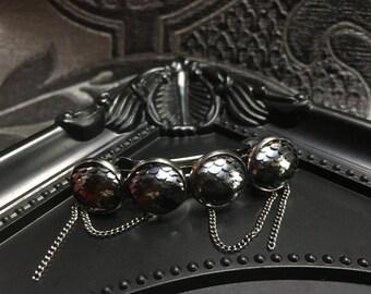 Rainbow Hair Clip, Mermaid Gifts, Mermaid Hair Clip, Dragon Scale Hair Pin, Hair Barrette, Gothic Gifts, Scale Jewelry, Hair Accessories