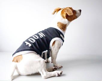 Dog clothing/WOOF mesh tank