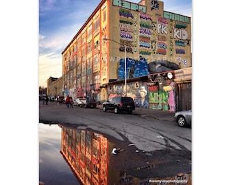 5Pointz, Long Island City, NYC, Original photograph 8x10