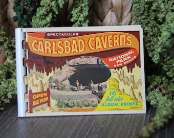 Vintage Carlsbad Caverns National Park Photo Book