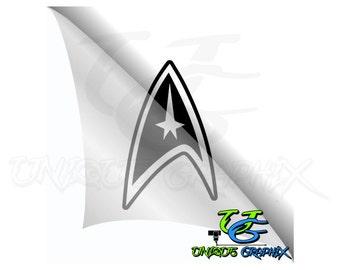 Star Trek Insignia Decal sticker
