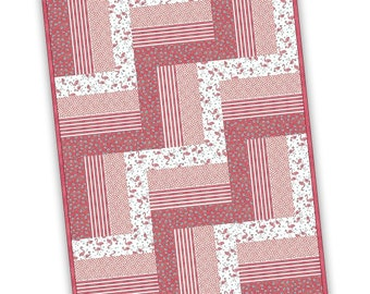 Rail Fence Quilt Etsy