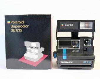 Polaroid Supercolor 635 - Special Edition - Includes original box and original instructions book