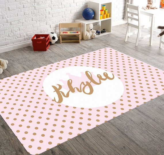 Pink And Gold Nursery Decor Nursery Rug Rugs For Nursery
