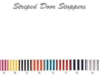 Draft Stopper.Stripped  Door Draft Stopper. Draft Snake. Door Snake. Window Snake. Draft dodger. Yellow Striped  Draft.