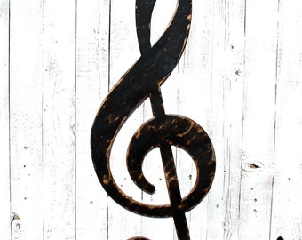 Treble Clef - Music - Notes - Photo Prop - Music art - Musical Decor - Music Room - G Clef - Band Decor - Choir