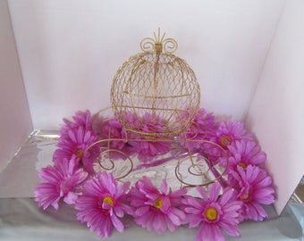 Cinderella Carriage - Great for Weddings, Birthdays or Baby Showers