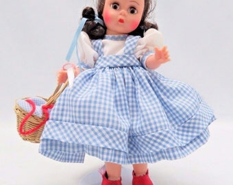 Madame Alexander Doll Dorothy 140464 Stand Original Box Toto Missing 1994 Vtg