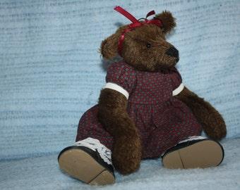 Teddy Girl Prototype Bear Ten Inches Tall