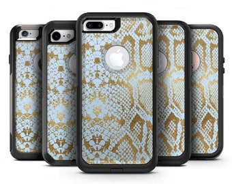 Gold Flaked Animal Laced - OtterBox Case Skin-Kit for the iPhone, Galaxy & More