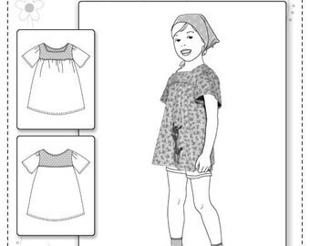 Farbenmix pattern JENNY tunic/shirt