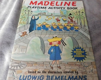 Madeline Playtime Activity Book