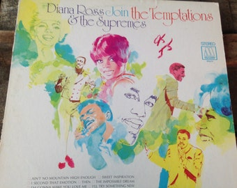 Diana Ross Join the Temptations and  the Supremes - vinyl record
