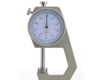 NEW - Leather Thickness Gauge with EZ to read dial