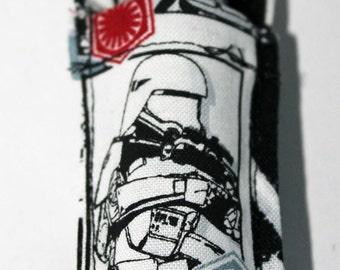 Star Wars cotton Stormtrooper lipstick/lip balm holder/keyring