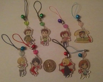 Resident Evil Phone Charms