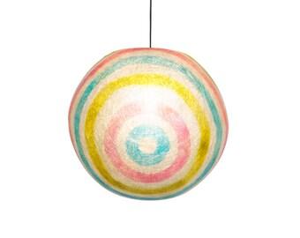 Lollipop ball lamp