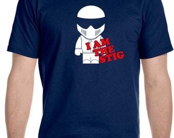 I Am The Stig Top Gear Automotive Tv Show - T-Shirt