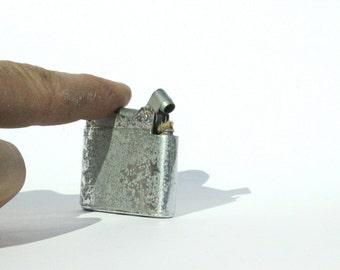 Queen Star Lighter, Gas Lighter, Metal Cigar Lighter, Art Deco Lighter, Pocket Lighter, Ladies Lighter, Trench Lighter, old Lighter, Lighter