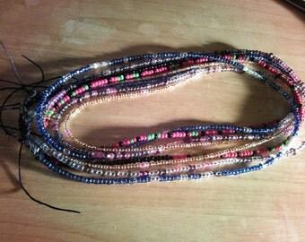 Tie- On  Waist Beads