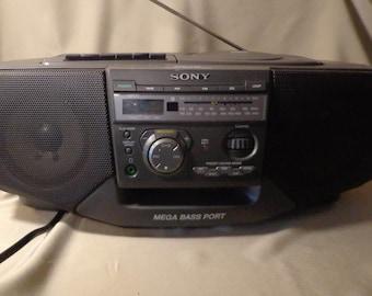 SONY CFD-V35 CD Radio Cassette Recorder, 1998