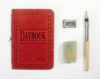 The Daybook  - GEMINI - Set of 3, 40 page handsewn pamphlets - Travelers notebook refills