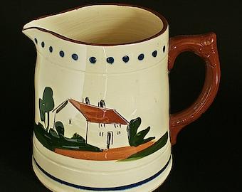 Items Similar To Dartmouth Pottery Tricorn Pewter Glaze Vase On Etsy