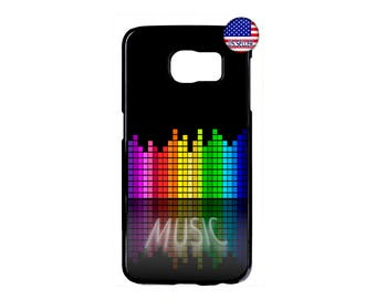 Music Retro Pattern New Fashion Hard Rubber Case Cover For Samsung Galaxy S8 S7 S6 Edge Plus S5 S4 S3 NOTE 5 4 3 2 iPod Touch 4 5 6