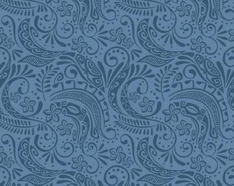 Fabric, Deep Blue Polynesia, Small Tattoo Design, Lewis and Irene, Island Girl, One Yard or More