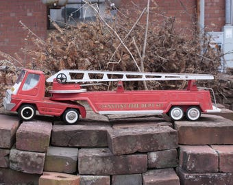 Nylint Fire Department Fire Truck Vintage Children's Toy