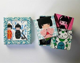 memory game kokeshi dolls matching game