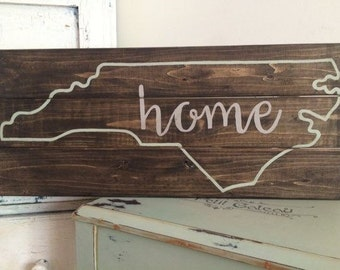 Custom State wall sign