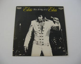 Elvis Presley - That's The Way It Is - Circa 1970