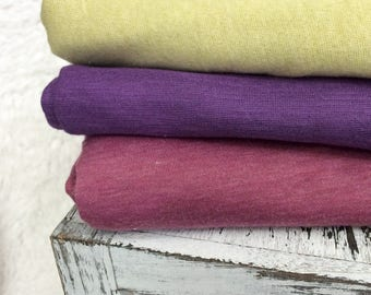 Jersey Stretch Knit Wrap,  6 COLORS,  Newborn Photo Prop, Pick 1 or 2 Wraps, Stretch Wrap, Swaddle Wrap, Layering Fabric.