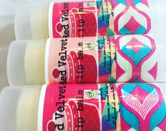 Red Velvet Cake lip balm .15 oz