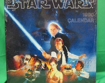 Star Wars 1990 Calendar - NEW